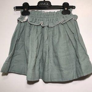 Other - Anais & i Skirt Girls Linen Skirt Size 4y, Sage Gr